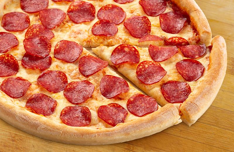 Пицца Салями пышная