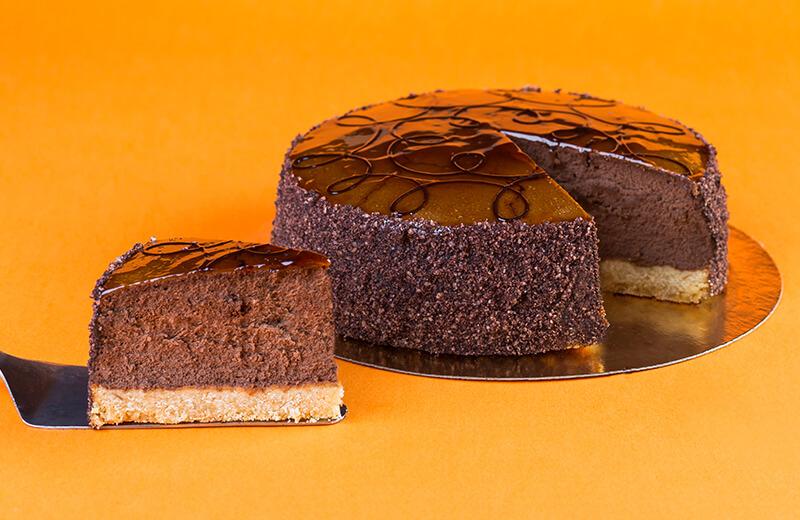Торт 'Чизкейк шоколадный'