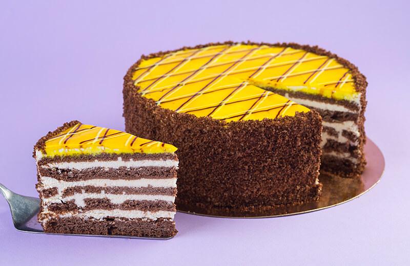Торт 'Шоколадный Сметанник'