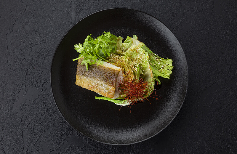 Заказ Филе трески по-азиатски с нитями чили