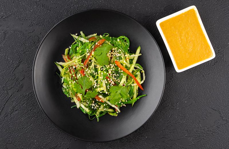Заказ Салат чука с овощами