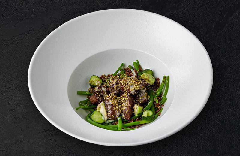 Заказать салат с говядиной и мини-огурцами