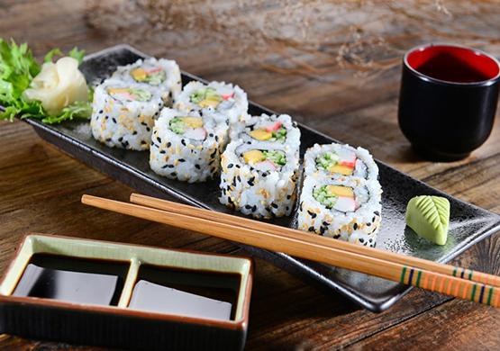 Суши - это очень вкусная и полезная диета