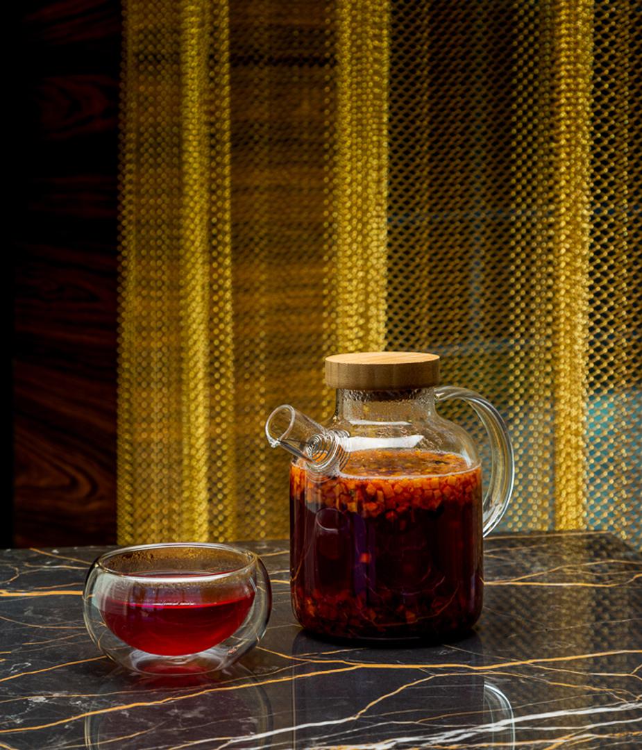 Чайная карта ресторана Cristal: горячие, согревающие напитки на любой вкус